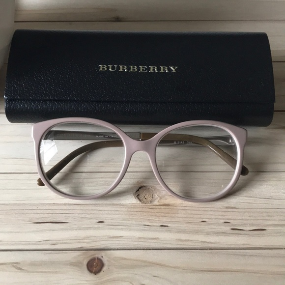 af32d9cd80bc Burberry Accessories - Burberry Glasses Nude Rx Frame with Case!